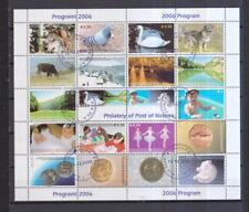 Kosovo 2006 gestempelt Zusammendruckbogen  siehe Beschreibung