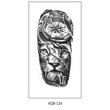 Löwen Tattoo Kompass Tattoo Festival Tattoo Arm Tattoo XQB116