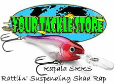 Rapala SRRS05 Shad Rap RS Rattling Suspending Pick Colors & Quantity NIP