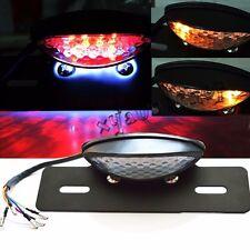 Motorcycle LED License Brake Tail Light Turn Signal For Bobber Cafe Racer ATV US