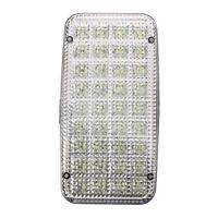 36 LED Lampara luz interior de techo tejado cupula de vehiculo coche Blanco D8L4