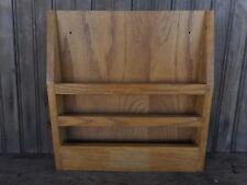 Letter Wood Wall Mount Vintage Hymnal ? Holder ? Flea Market Decor Pre owned