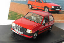 OPEL CORSA A 1.2 S 1982 1993 RED IXO ALTAYA 1/43 ROSSO ROT ROUGE LHD EAGLEMOSS