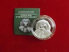 * Weißrussland 20 Rubel 2011 Silber PP * Igelfamilie (Schub119)