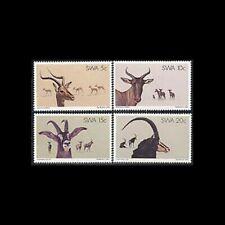 South West Africa, Sc #443-46, MNH, 1980, Animals, Impala, Antelope, 4FID
