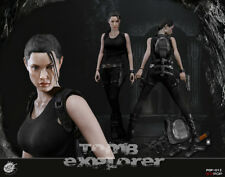 POPTOYS EX012 1/6 Explorer Lara Croft Action Figure Standard Ver. Angelina Jolie