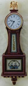 Federal Banjo Clock - Franklin Mint 1988 - Working Order
