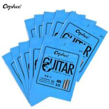 Orphee Electric Guitar String Replacement 1st E-String (.009) 10-Pack Hot Z7G9
