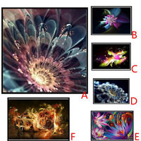 5D Diamond Rhinestone Pasted Embroidery Painting Cross Stitch Home Decor+tool
