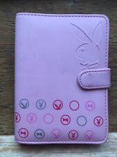 Pretty Pink Playboy Bunny Branded Organiser/Address Book/Baby Pink/Unused