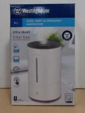 Westinghouse WSHUJ2195 4L Cool Mist Ultrasonic Humidifier, White $50