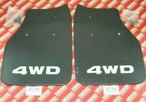 TOYOTA Genuine OEM HILUX PICKUP 4RUNNER 89-95 4WD Rear Mud Flaps Guards Pair Set