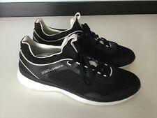 Dolce & Gabbana D&G Mens Sports Shoes Trainers Sneakers Black Size Uk 10 Eu 45