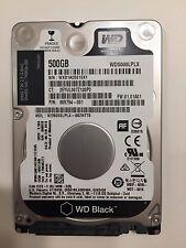 """Western Digital 500GB Internal 7200RPM 2.5"""" (WD5000LPLX) HDD"""