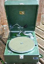 Green HMV 102 Gramophone