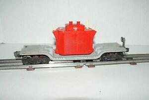 Lionel O Gauge 2461 Red Transformer Car