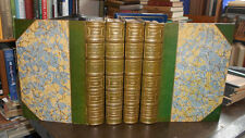 A Short History of the English People. J R Green (4 vols) Fine Leather Bindings