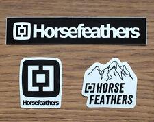 Horsefeathers Snowboard Freeride 3 Aufkleber Sticker Adesivo (S040)
