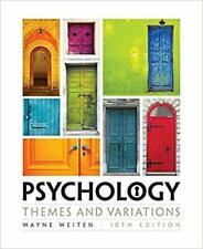 Psychology: Themes and Variations 10th Edition