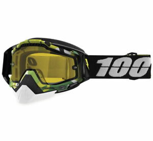NEW 100% RACECRAFT SNOW GOGGLES SNOWMOBILE SNOWCROSS SEVERAL COLORS!