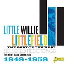 LITTLE WILLY LITTLEFIELD - BEST OF THE REST   CD NEU