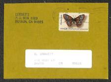 USA SCOTT #1713 BUTTERFLY STAMP OAKLAND CALIFORNIA POSTCARD 1983