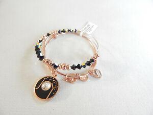 Alex and Ani Rose Gold International Exclusive Joy Bracelet Set of 2