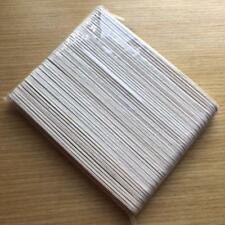 Free Shipping 100 pcs white wooden nail file 100180 wood emery board nail