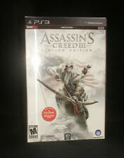 Assassin's Creed III:  Limited Edition (Sony PlayStation 3, 2012)