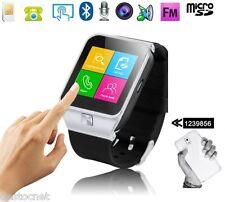 Montre téléphone connectée smartwatch bluetooth lecteur Débloqué MP4 GSM 4 bande