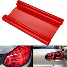 "12"" x 60"" Glossy Red Tint Headlight Taillight Fog Light Vinyl Film Cars Trucks"