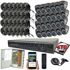 Sikker 32Ch Channel DVR 24 pcs 1080P 2 Megapixel Dome Camera Security system 4TB