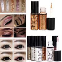 Waterproof Makeup Metallic Shiny Eyeshadow Glitter Liquid Eyeliner Pen Cosmetics