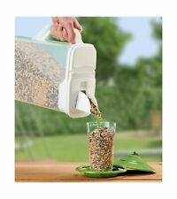 Buddeez 8Qt  Pet Food / Bird Seed Storage Container and Dispenser - Flip Lid ...