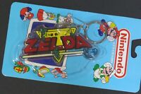 1989 Legend of Zelda Nintendo of America ACE Keychain New Sealed NES era RARE