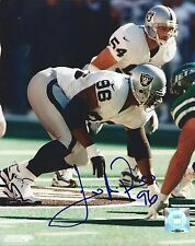 Darrell Russell Oakland Raiders Hand Signed Autographed 8x10 Photo COA Deceased