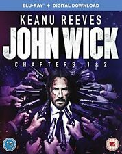 John Wick: Chapter 1 & 2 [Blu-ray] Region Free