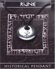 Viking Rune Stone Pendant  -  LOVE