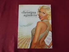 Christina Aguilera-Best of. cancionero notas libro piano vocal Guitar PVG