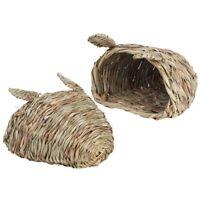Hamster Grass Nest Chew Mat Breaker Small Animal Toy Rabbit Rat Guinea Pig New