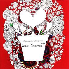 Wholesale Lot Love Secret Art Therapy Anti-stress Children's Adult Coloring Book