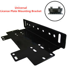 1PC Front Bumper License Plate Mount Bracket Holder for Lamp/LED Light Bar