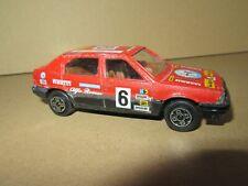 705P Burago 4193 Italy Alfa Romeo 33 #6 Rally Advertising Pioneer Pirelli 1:43