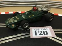 Scalextric Car Vintage F1 Arrow Green C23 Slot Car 1:32 Lot 120