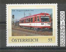 """Österreich PM personalisierte Marke Eisenbahn """"Pinzgauer Lokalbahn"""" **"""