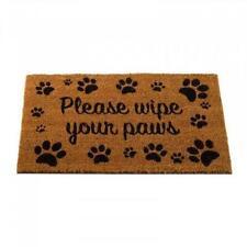 Wipe Your Paws Decoir Mat 75 x 45cm Door Hard Wearing Indoor Outdoor Non Slip
