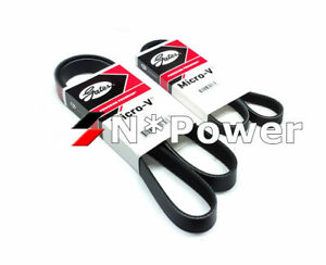Gates DRIVE BELT KIT FOR TOYOTA ECHO NCP12R NCP13R 1NZ-FE 1.5L 99-05 WITH A/C