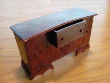 Vintage Plastic Sideboard Buffet w/ Drawer Dollhouse Furniture J.P. Company USA