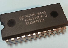 Hitachi HM6116P-3 Low Power Static RAM chip 24Pin