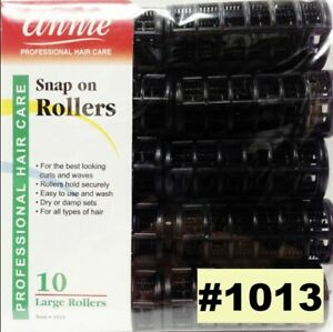 Annie Snap On Rollers 10 Large Rollers #1013